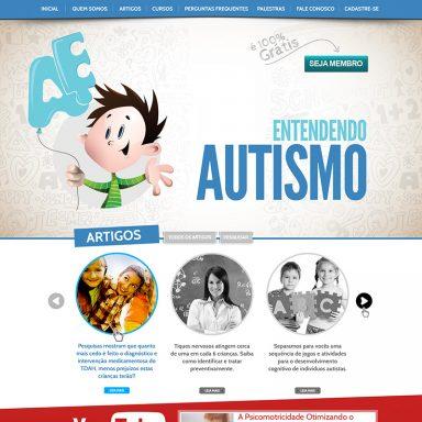 Entendendo Autismo - Site em Wordpress